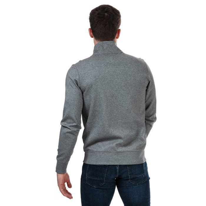 Tommy Hilfiger Men's Essential Zip Sweatshirt in Grey