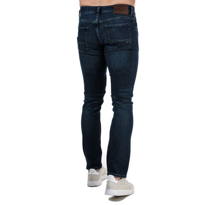 Tommy Hilfiger Men's Denton Bridger Straight Jeans in Blue