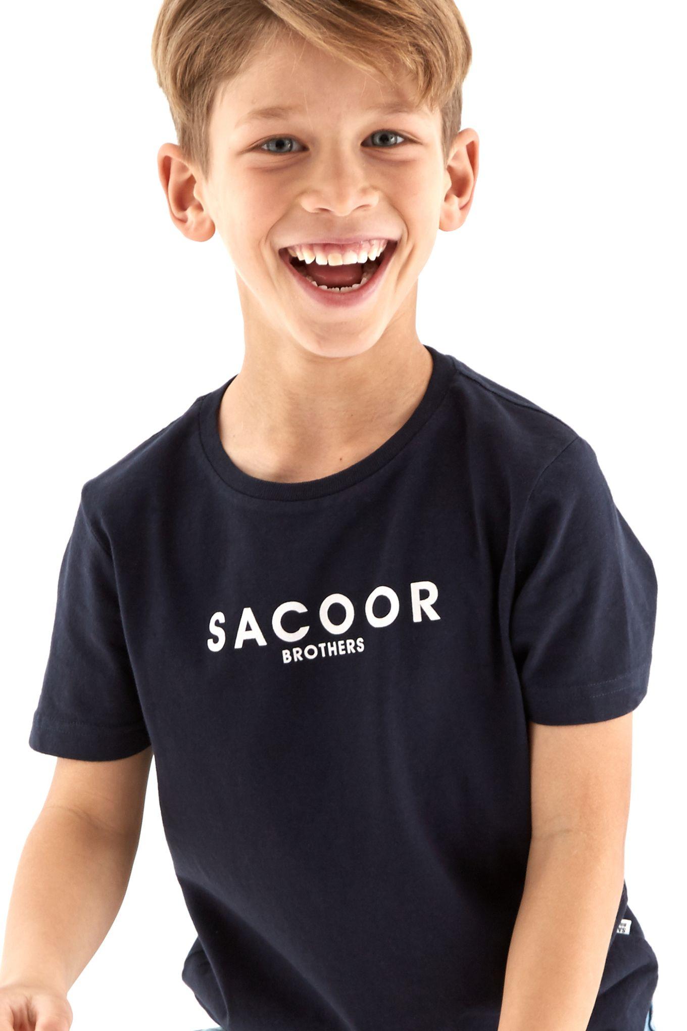 Boys Sacoor Print T-Shirt
