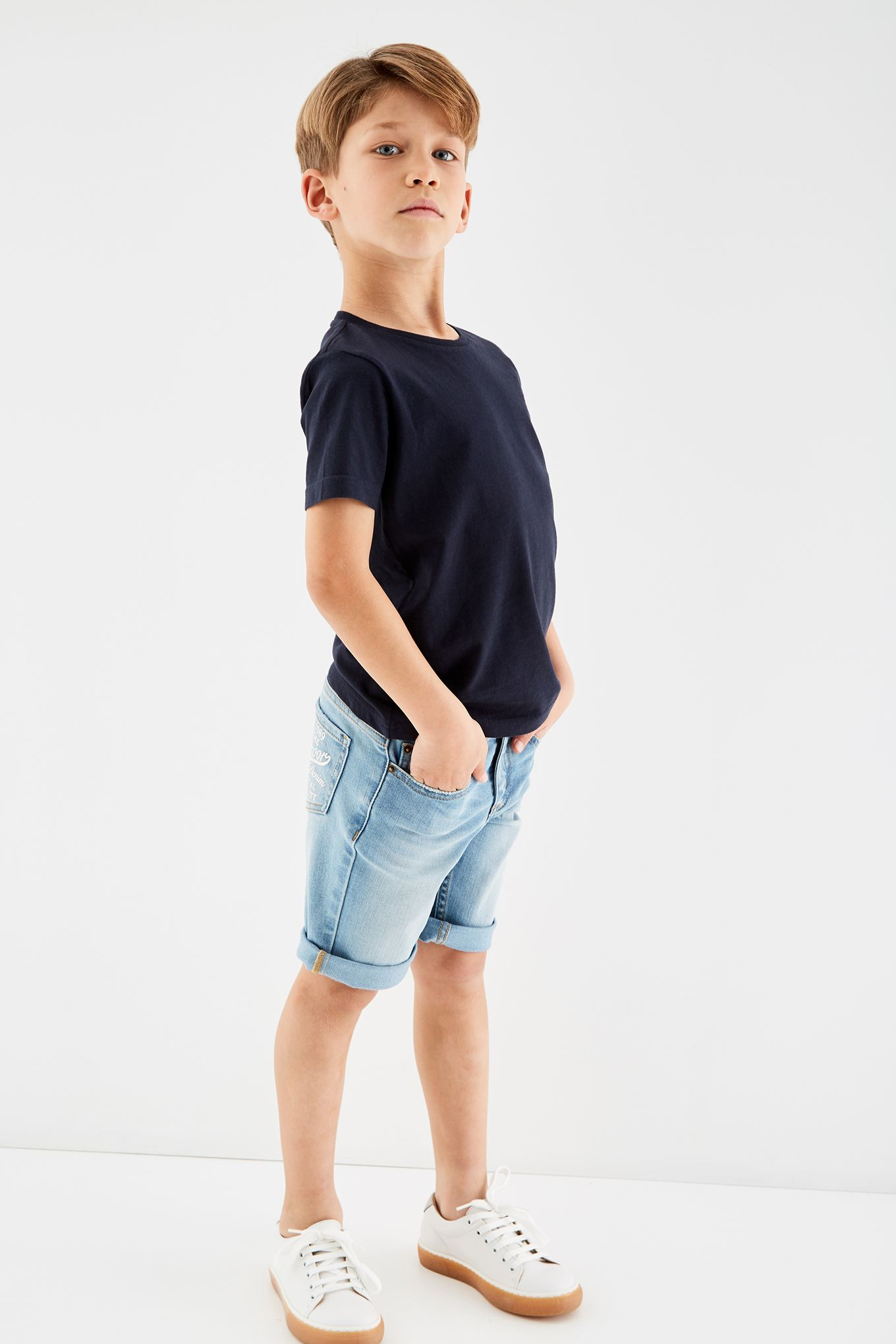 Boys Plain Sports T-Shirt
