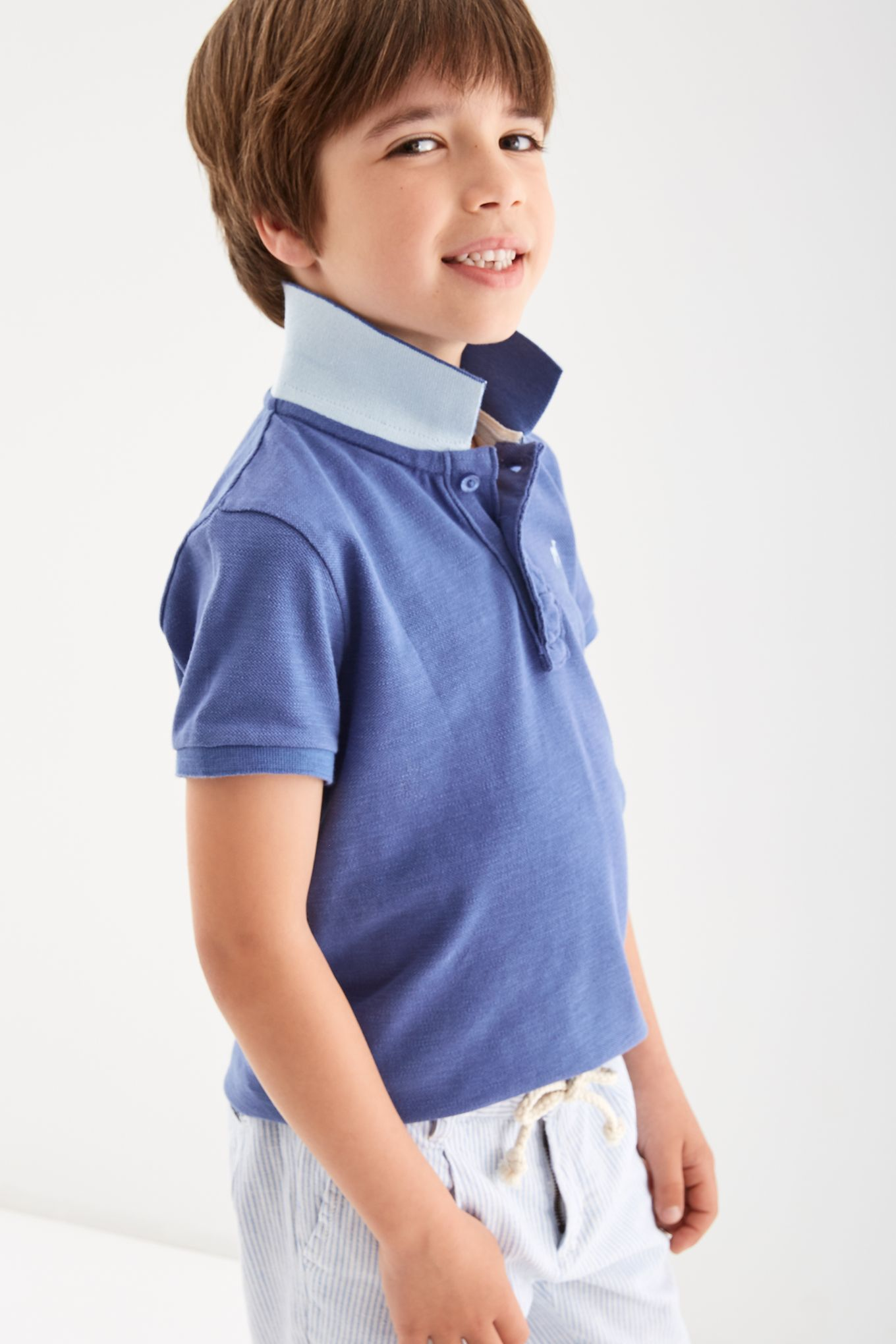 Boys  Basic Piquet Polo
