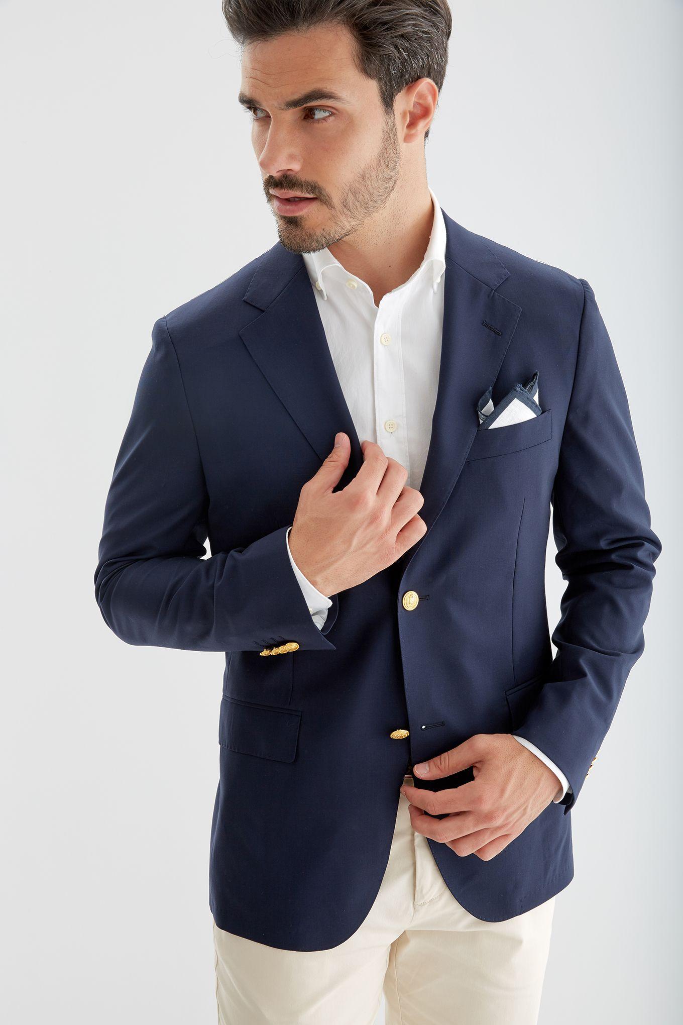 Men s Regular Fit Classic Blazer