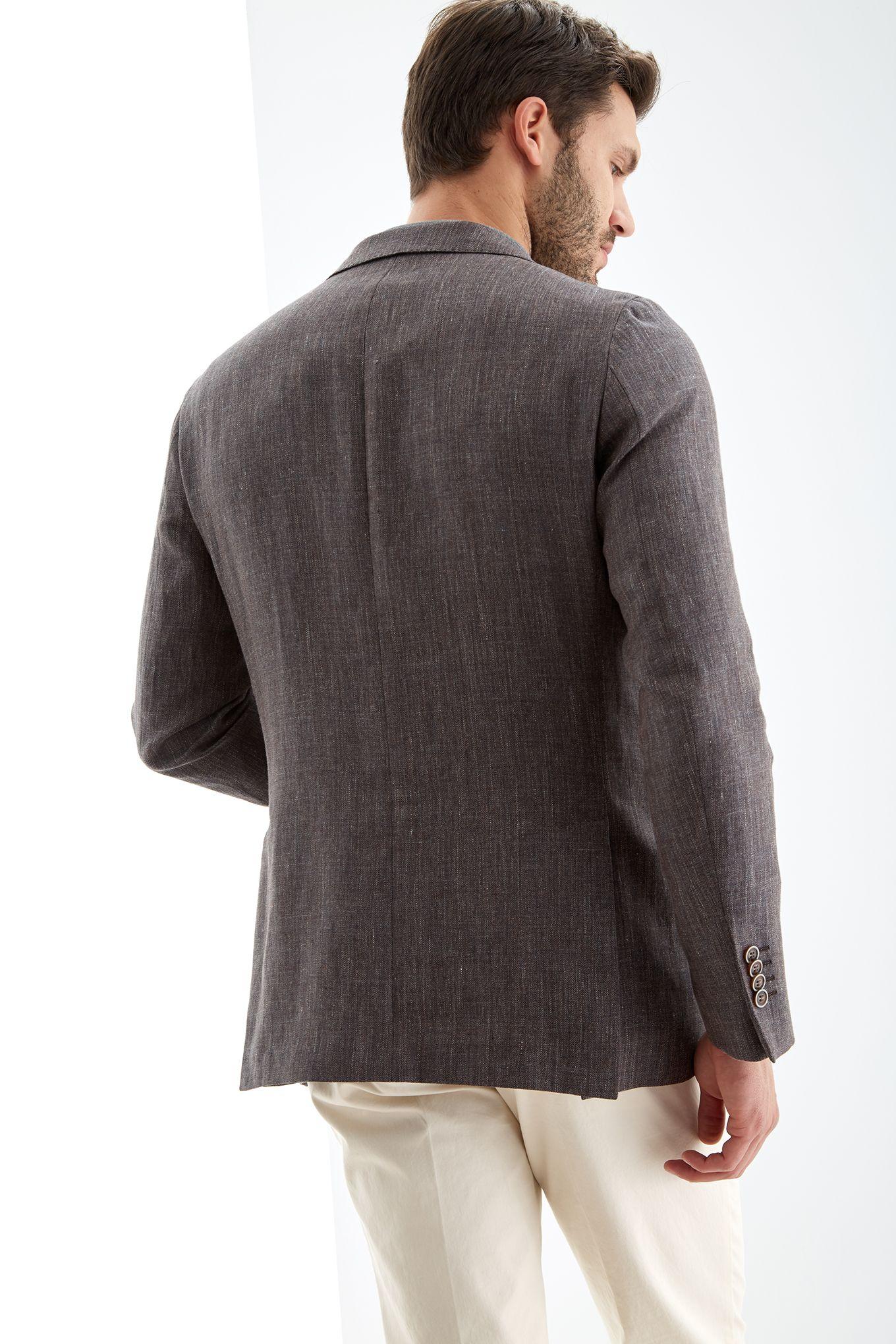 Men s Linen Slim Fit Blazer