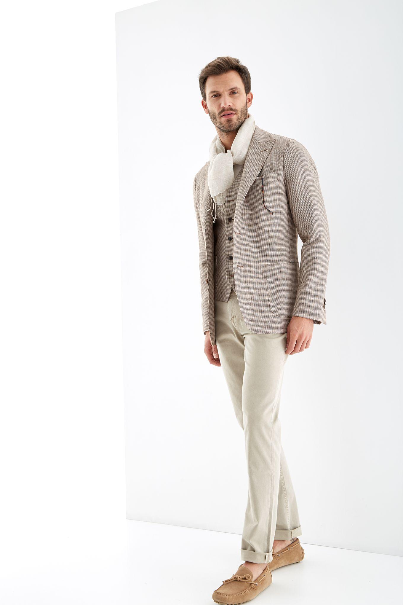 Men s Pied de Poule Classic Blazer