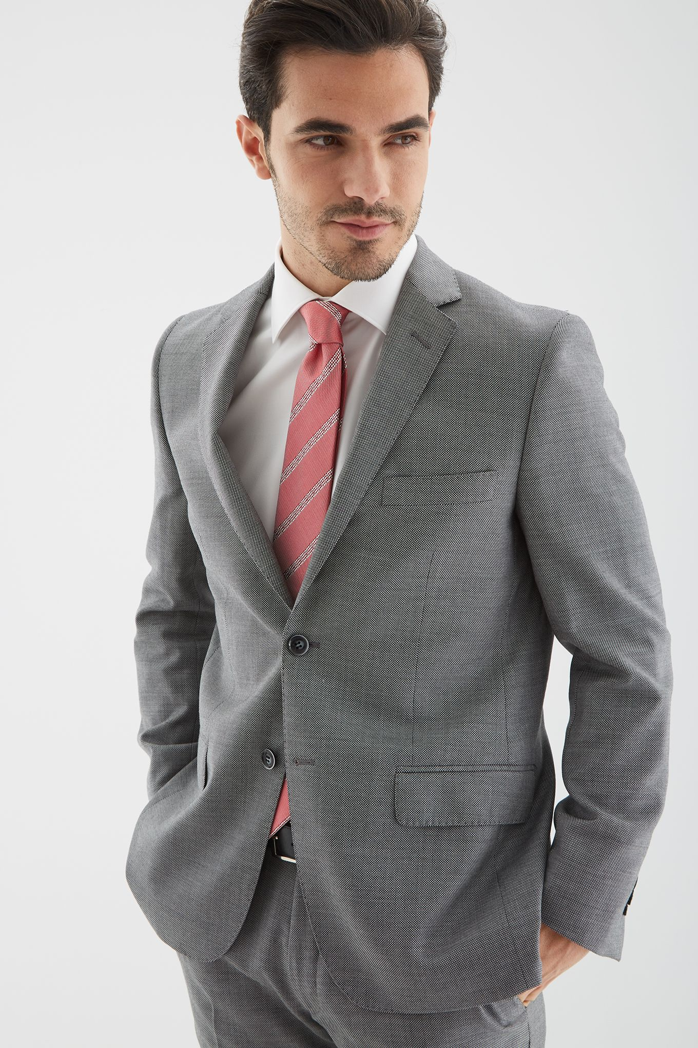 Men s Birdeye Slim fit Classic Suit