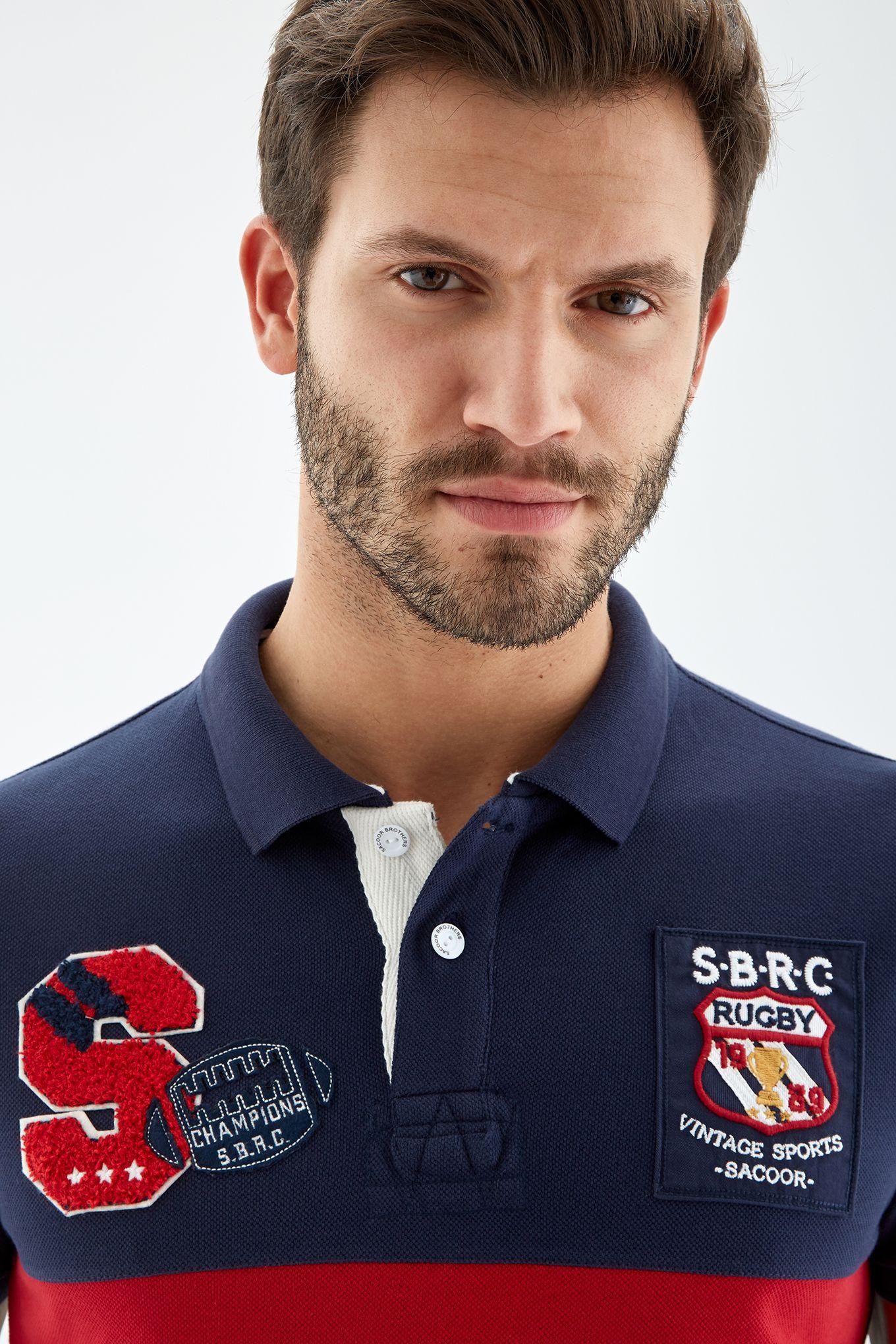 Men s Short Sleeve Sports Piquet Polo