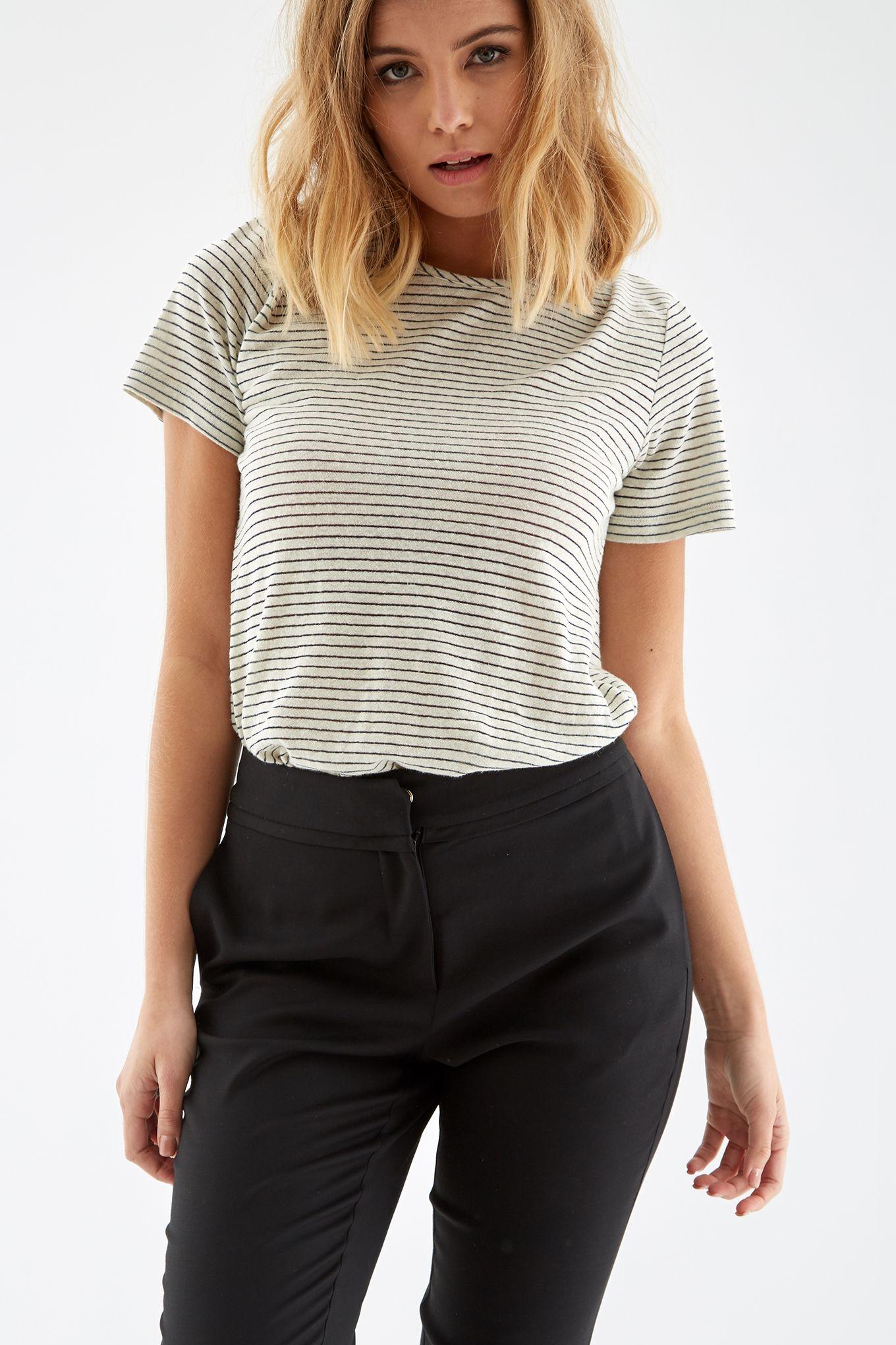 Women s Striped T-Shirt