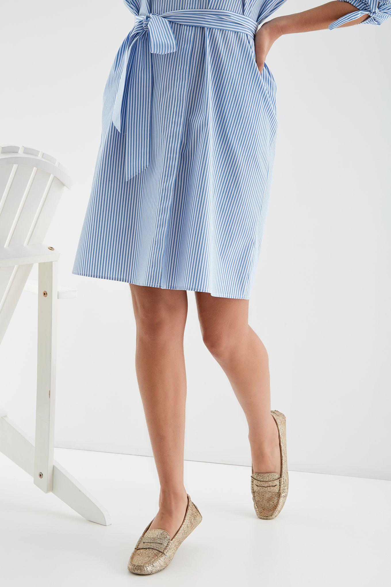 Women s Striped Shirt Dress