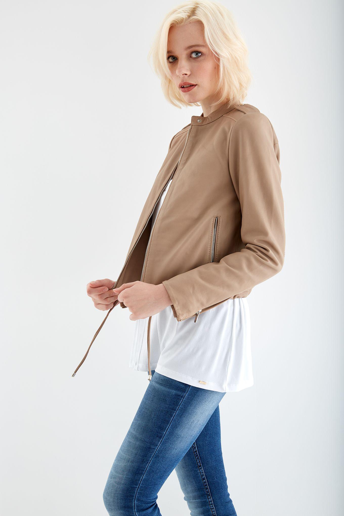 Women s Leather Jacket