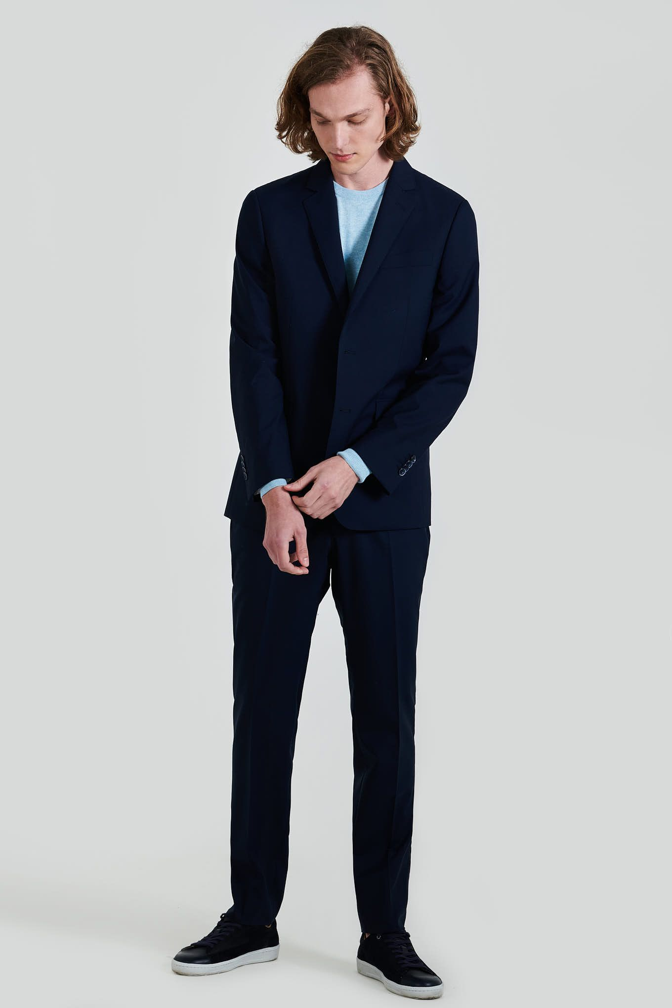 Men s Classic Slim Fit Super 130 Suit