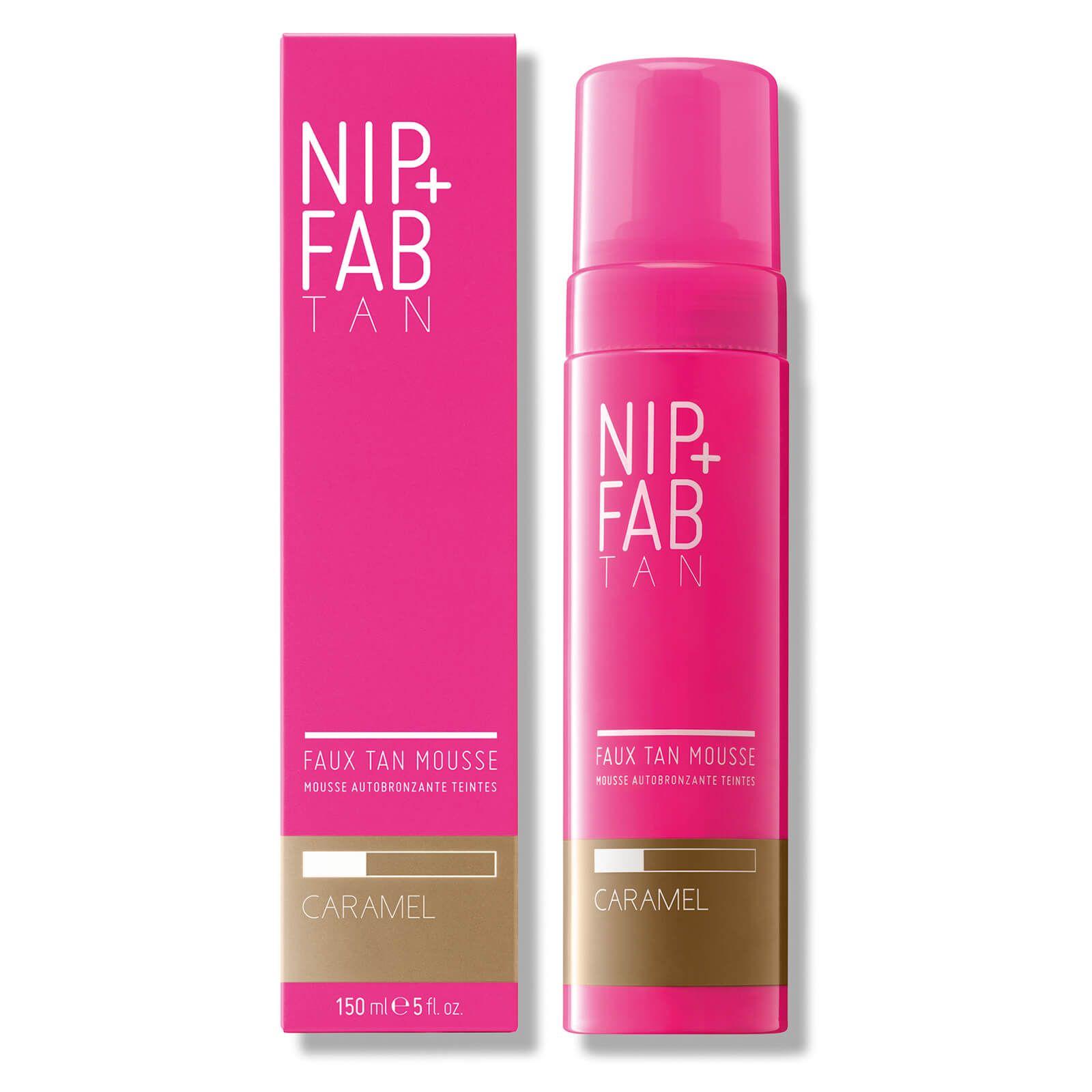 NIP+FAB Faux Tan Mousse 150ml - Caramel