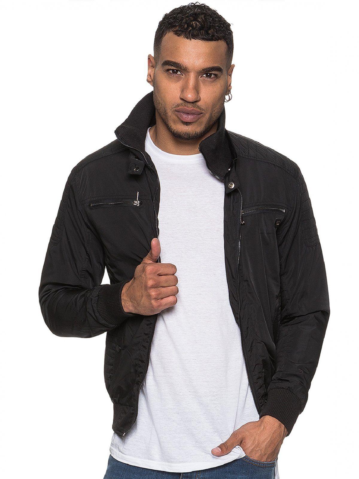 ETO | Men's Designer Black Biker Style Jacket
