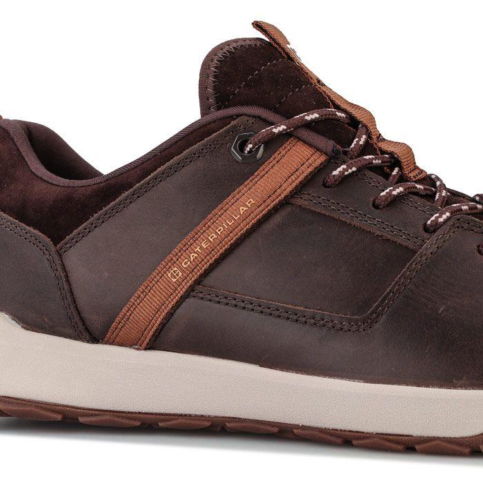 Men's Caterpillar Quest Mod Shoe in Brown