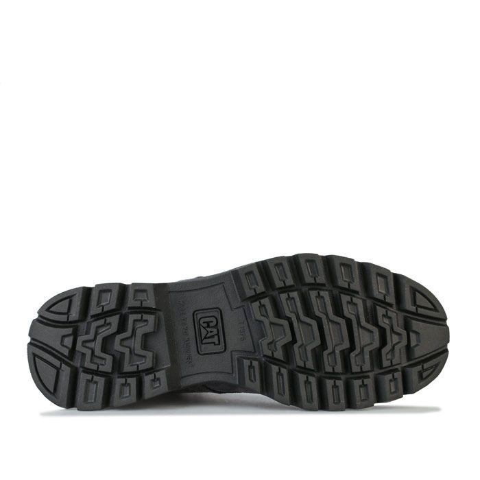 Men's Caterpillar Quadrate Boots in Grey