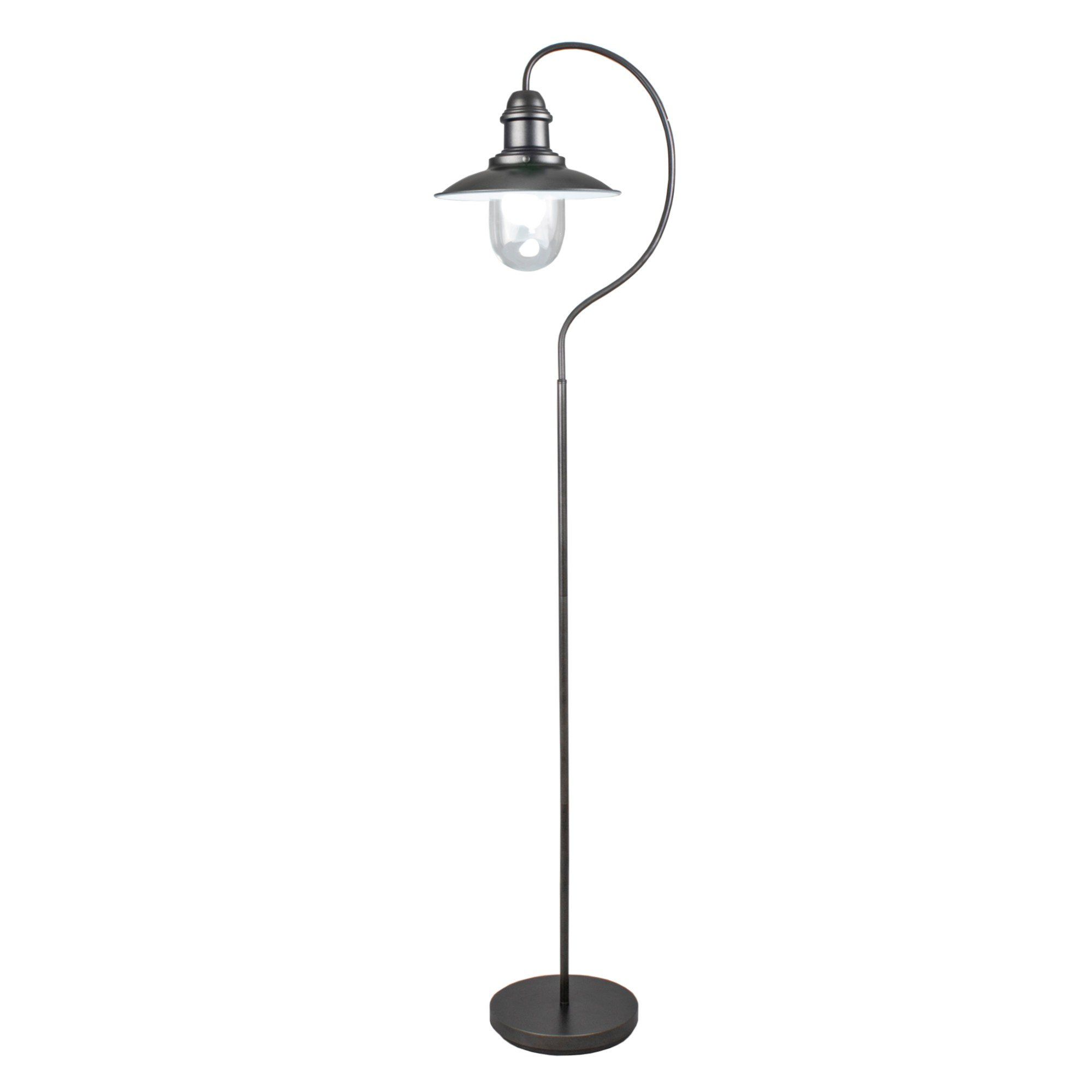 Knot Black Fisherman 158cm Floor Lamp