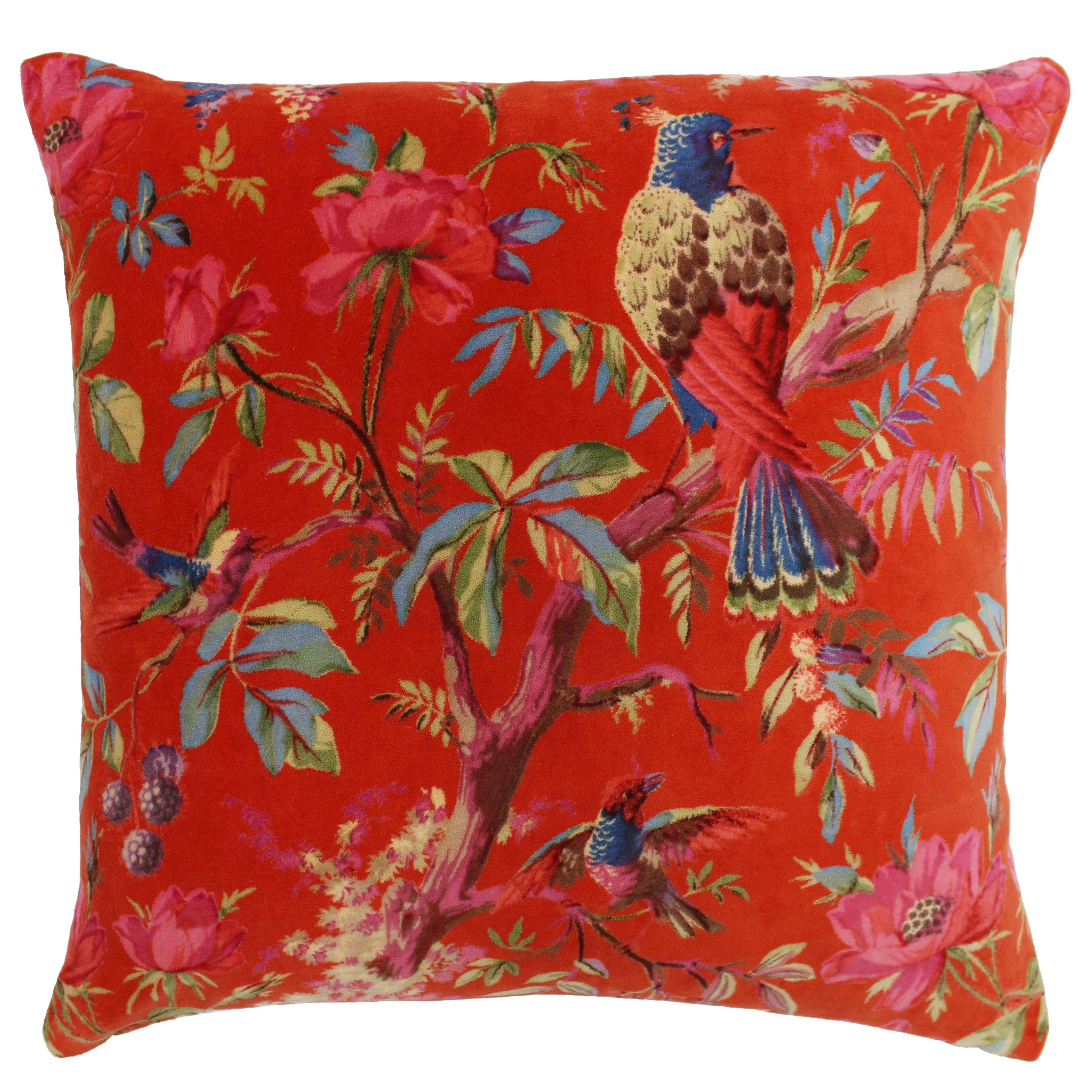 Paradise 50X50 Poly Cushion Orange
