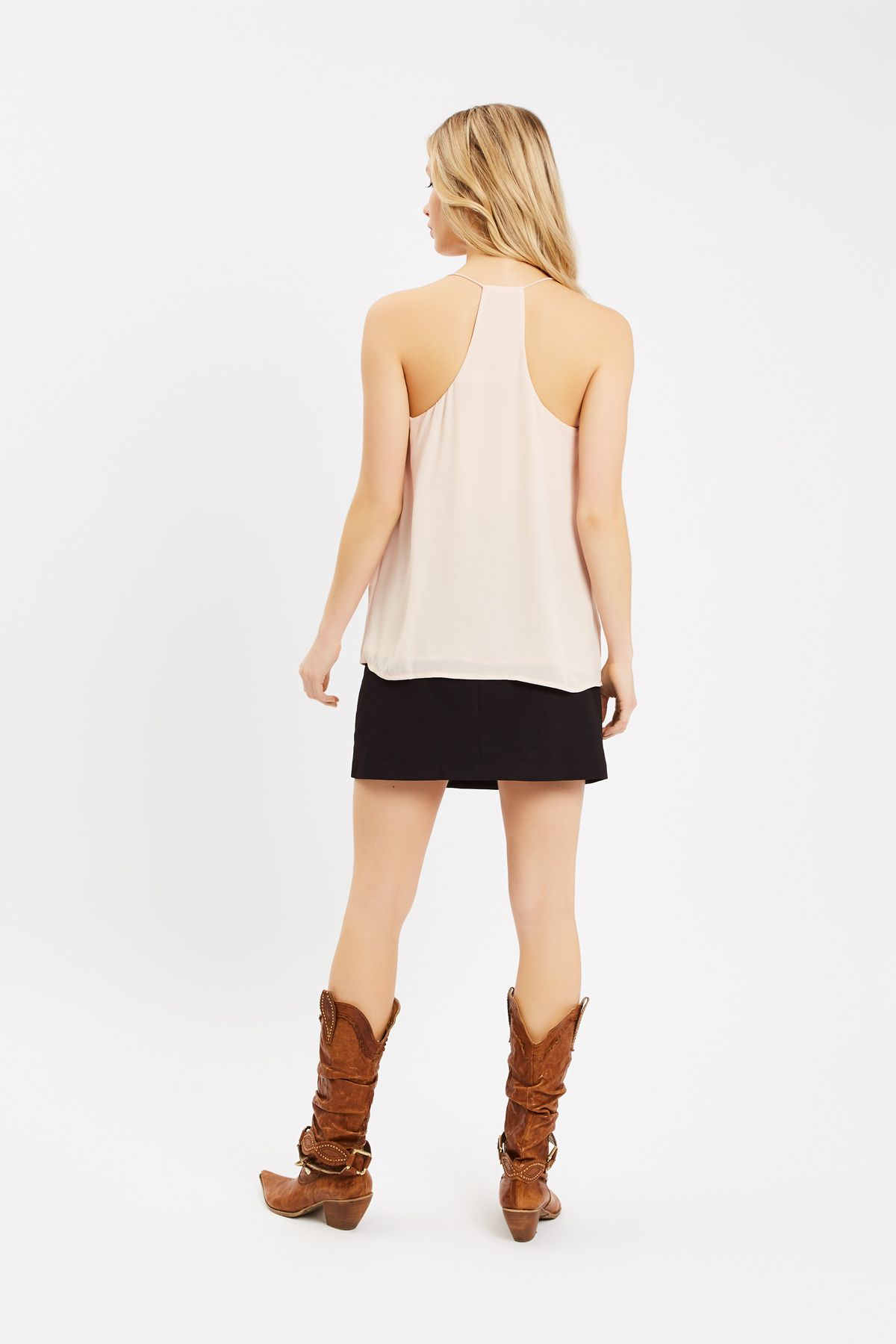 Pastel Dreams Racer Back Camisole in Pink