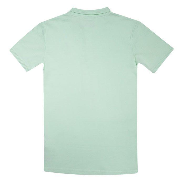 Boy's Original Penguin Junior Raised Tipped Polo Shirt in Green