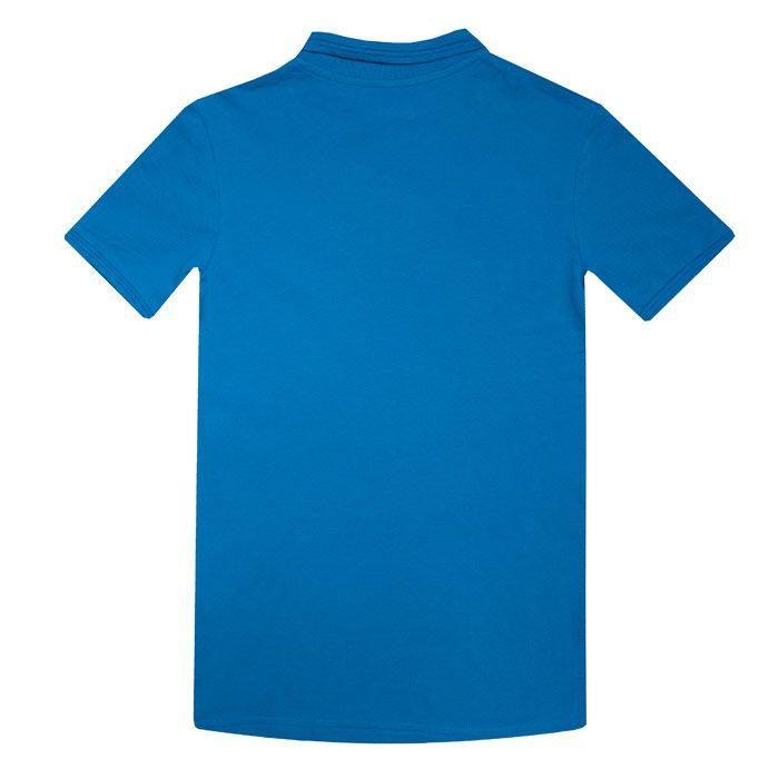 Boy's Original Penguin Junior Raised Tipped Polo Shirt in Dark Blue