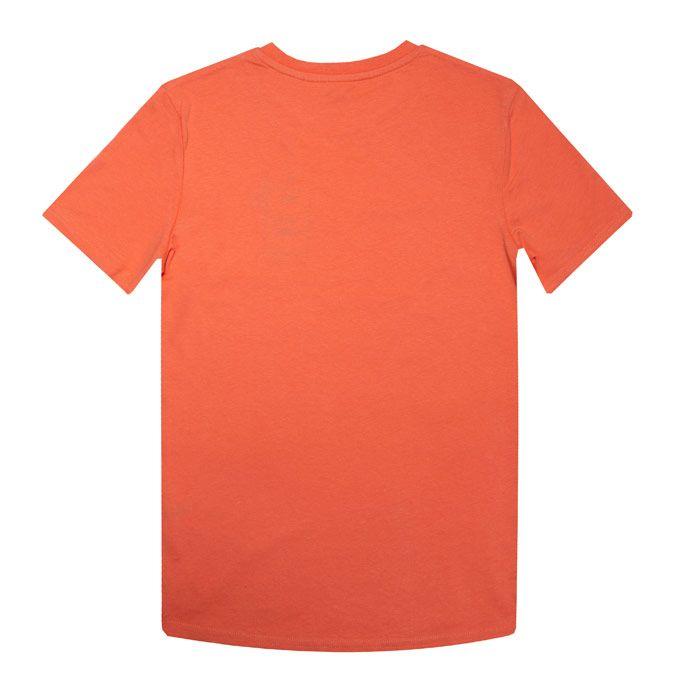 Boy's Original Penguin Junior Penguin T-Shirt in Orange