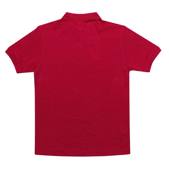 Boy's Lacoste Junior Polo Shirt in Cerise