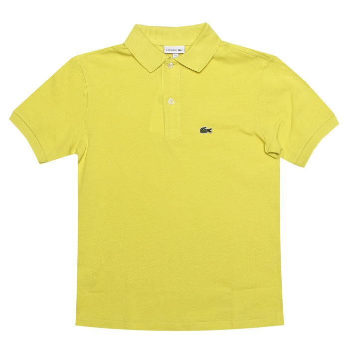 Boy's Lacoste Infant Polo Shirt in Yellow