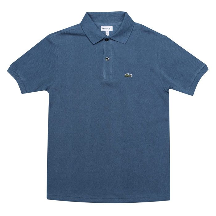 Boy's Lacoste Junior Polo Shirt in Blue
