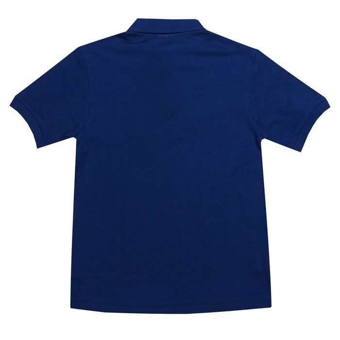 Boy's Lacoste Junior Polo Shirt in Royal Blue