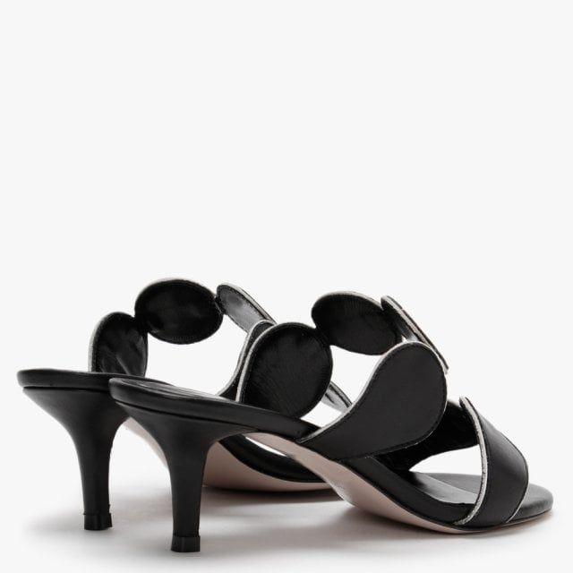 Daniel Pollie Leather High Heel Sandals