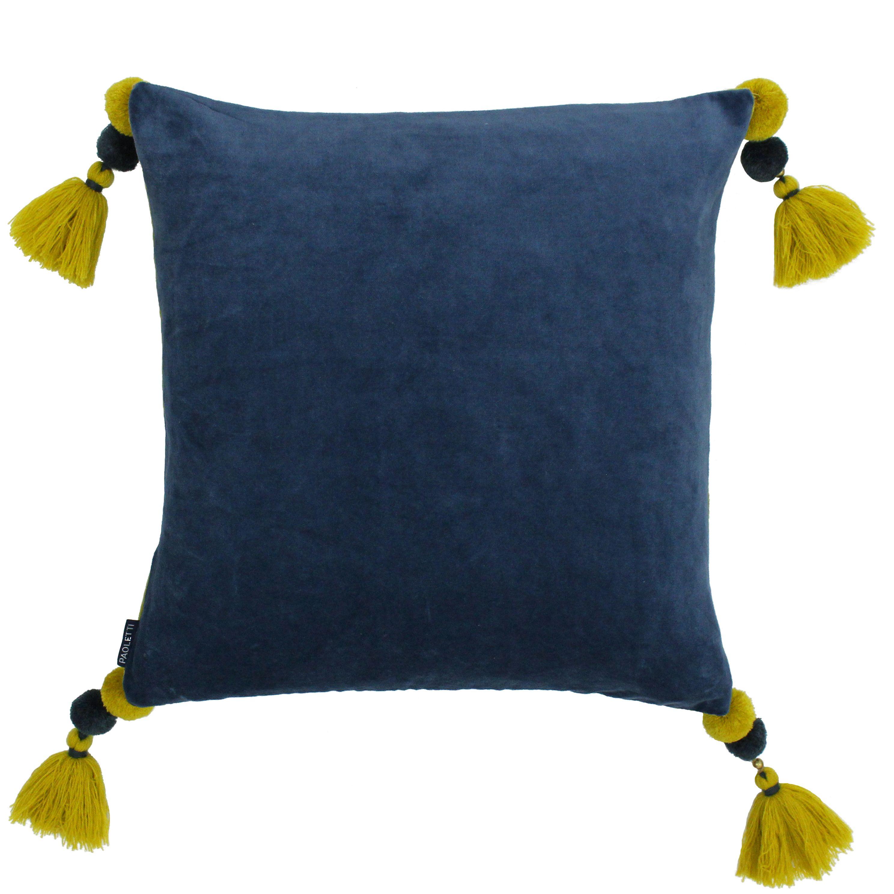 Poonam 45X45 Poly Cushion Singlelu/Lcur