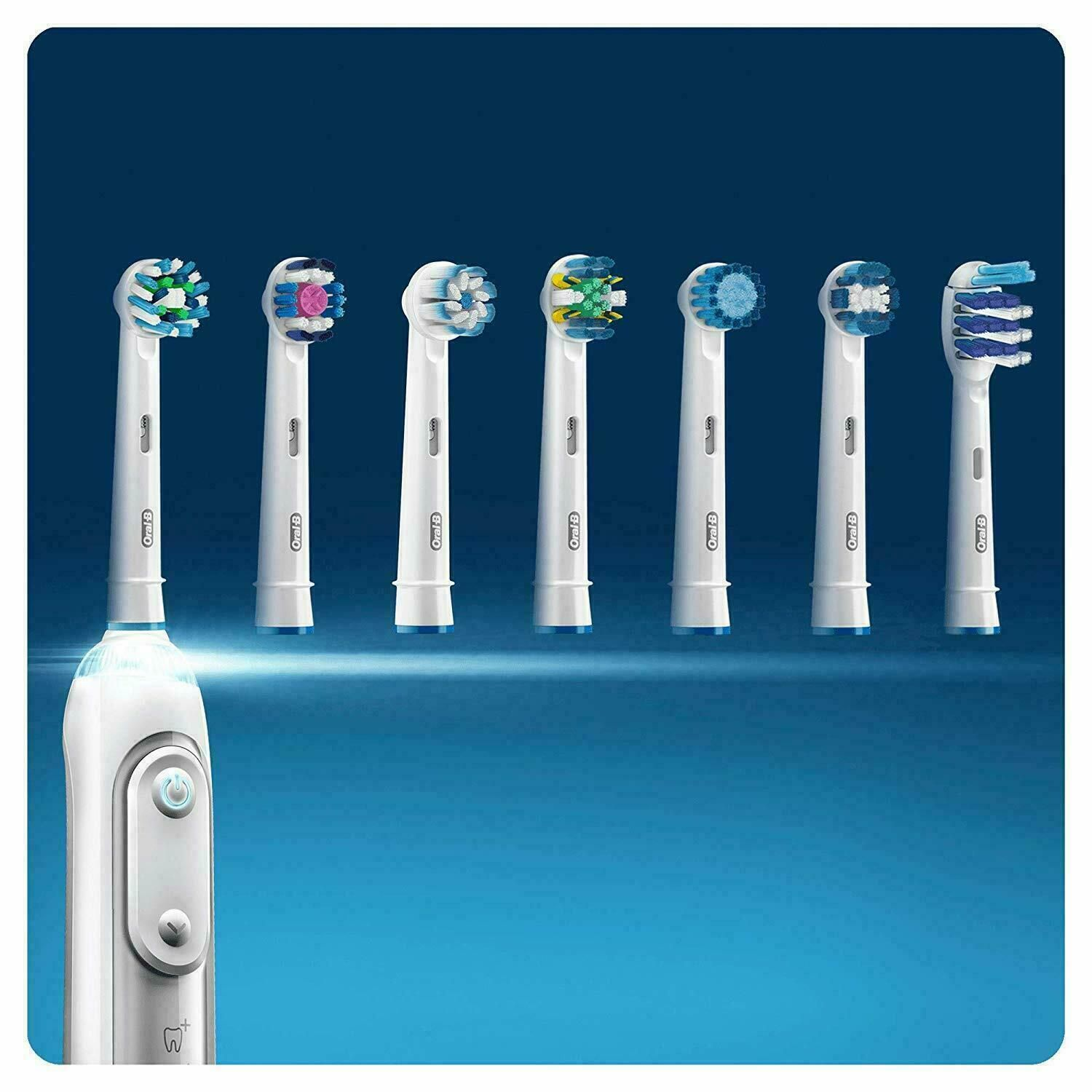 Oral-B Precision Clean Toothbrush Heads Replacement Refills 4 Pack