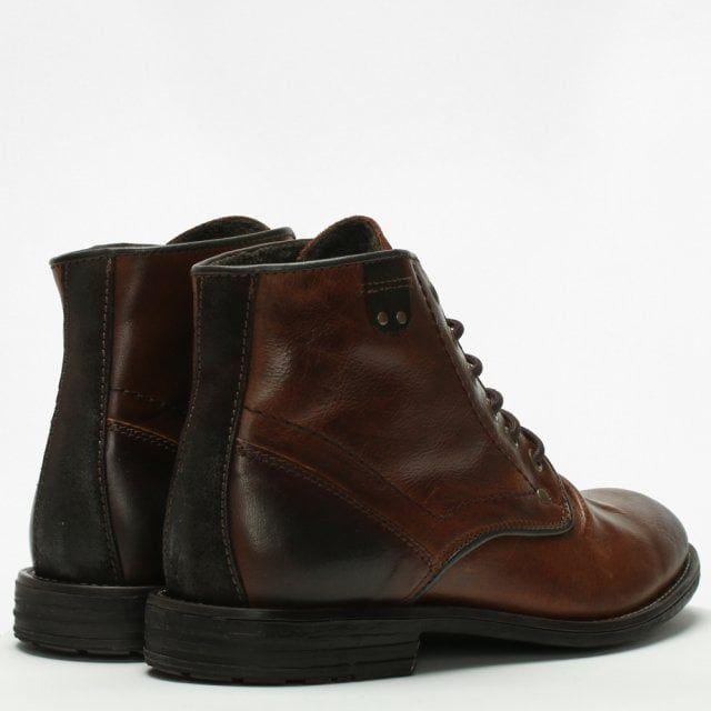 Daniel Prentis Leather Ankle Boots