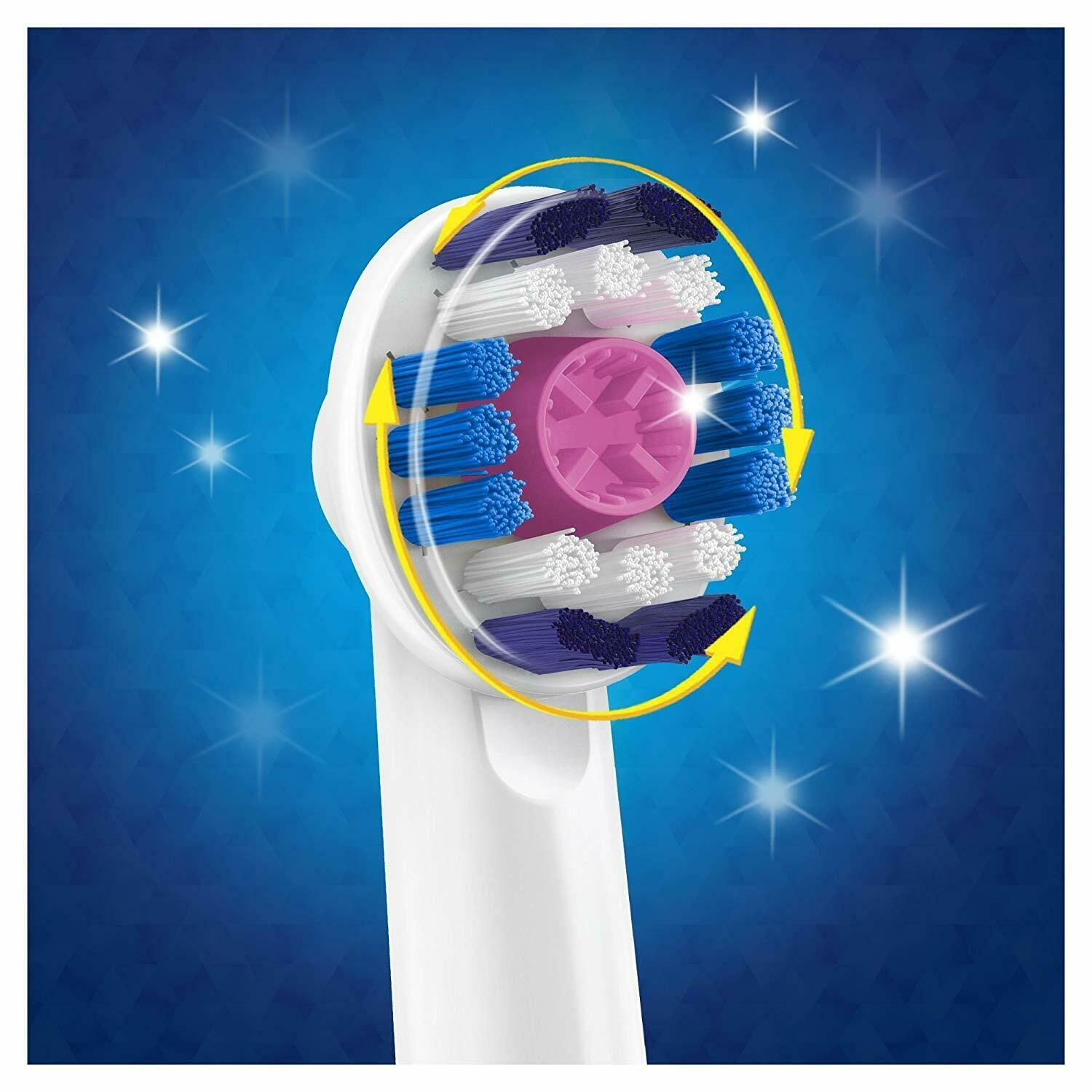 Oral-B Pro 2 2500 3D White Electric Rechargeable Toothbrush Pink