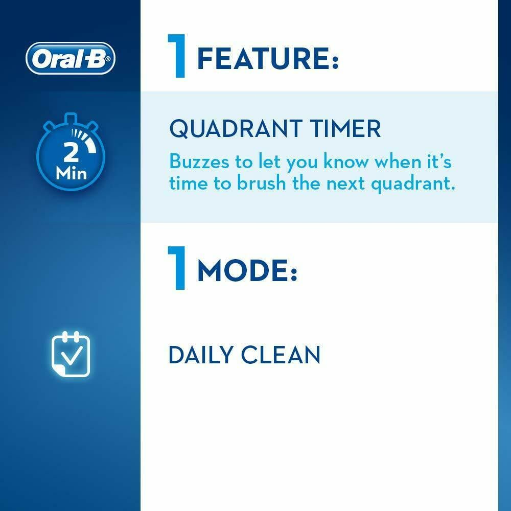 Oral-B Pro 650 Sensi Ultrathin Toothbrush with 1 Toothbrush Head & Toothpaste
