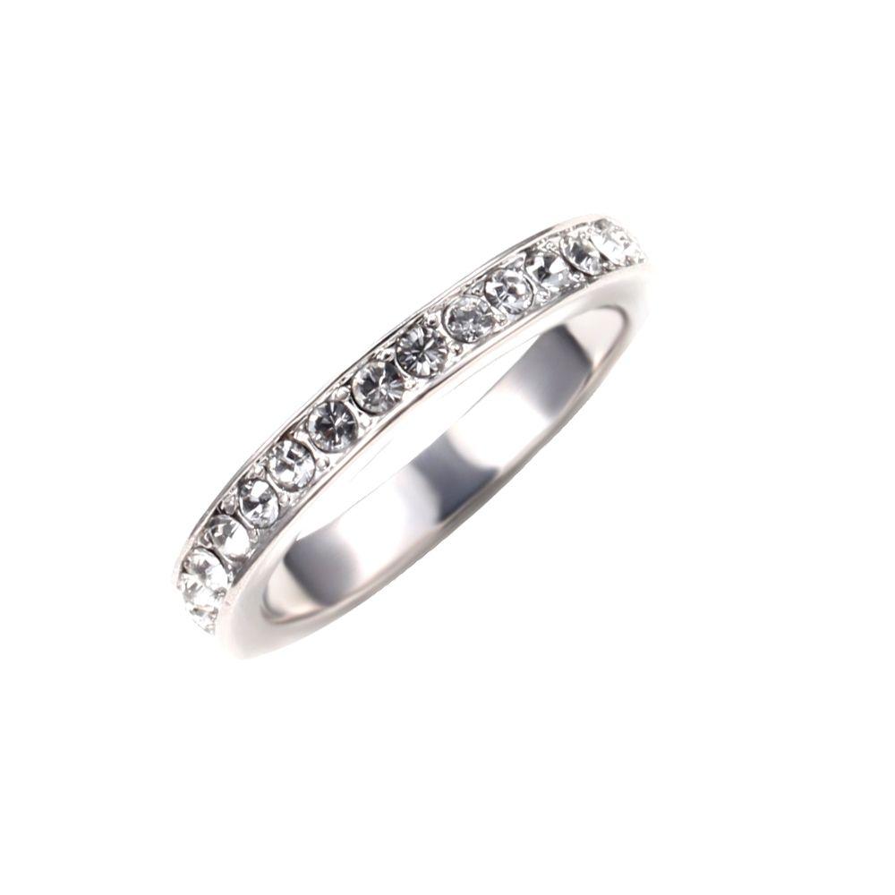 Swarovski - White Swarovski Crystal Elements Ring