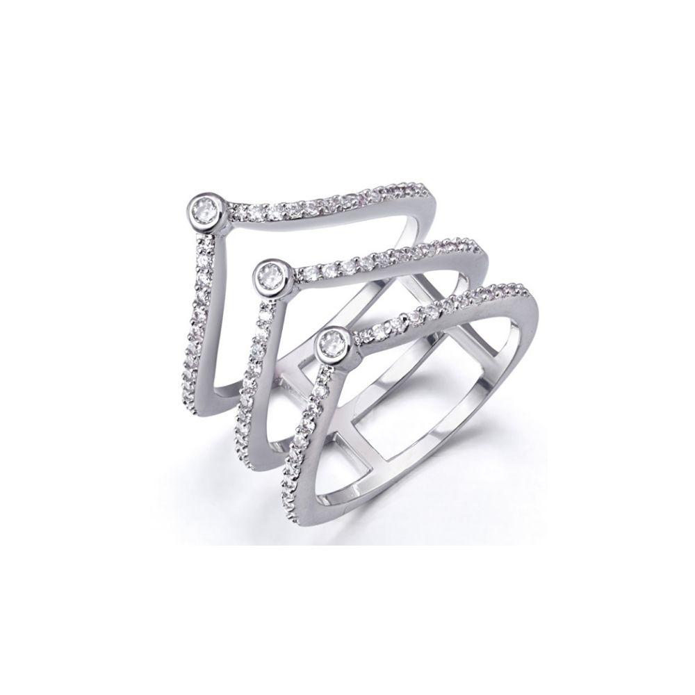 Swarovski - White Swarovski Elements Crystal Ring