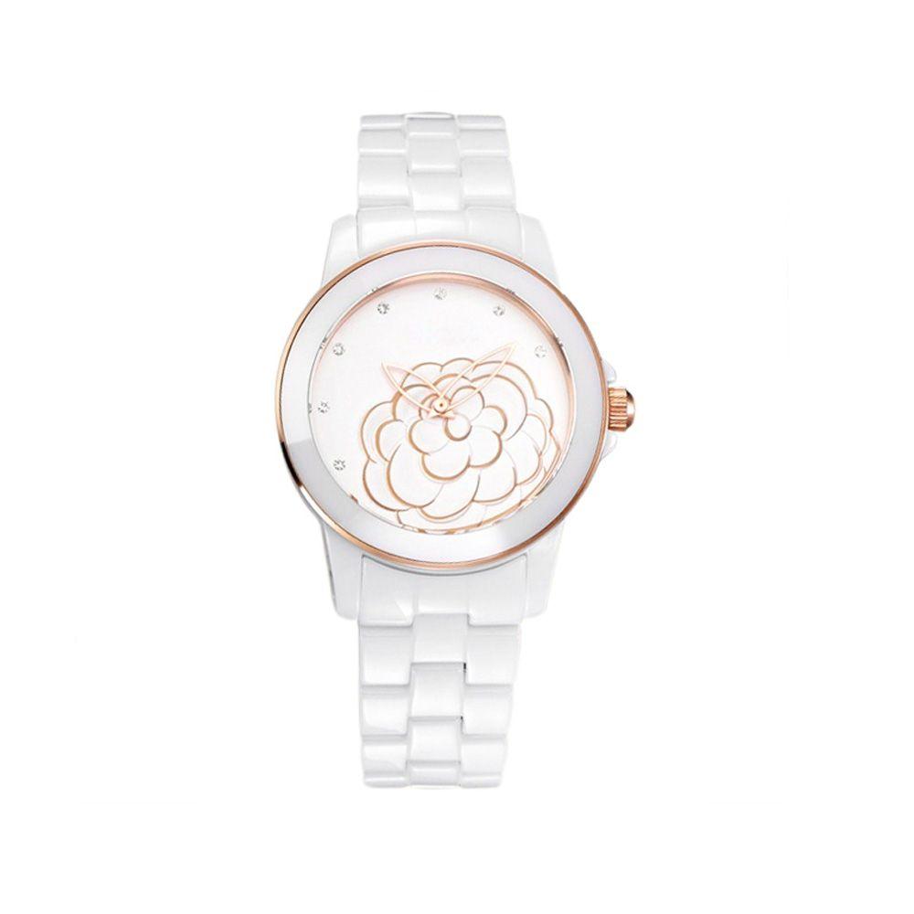 White Ceramic Watch