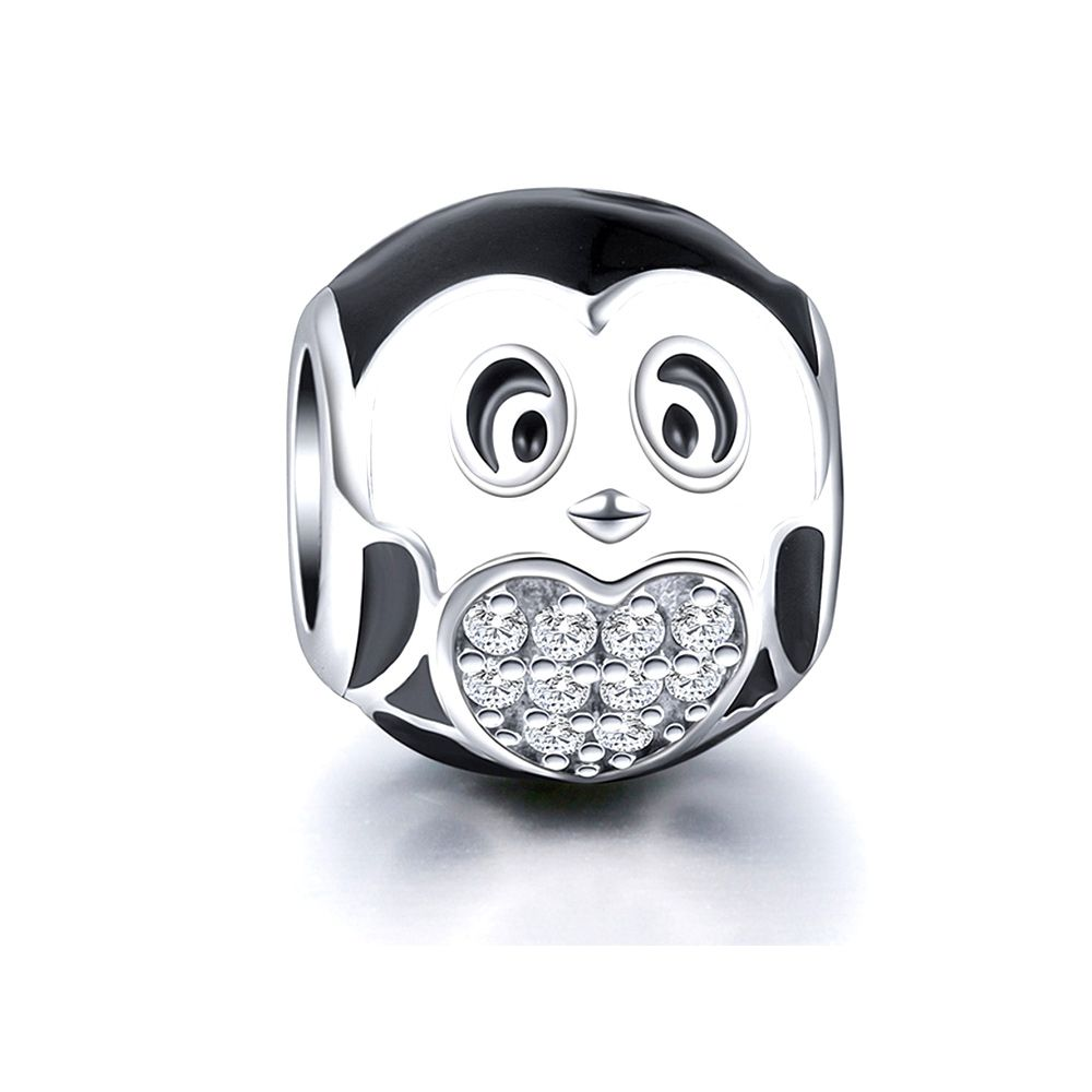 925 Silver Penguin Charms bead