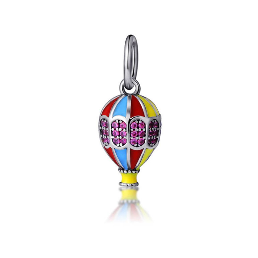 925 Silver Balloon Travel Charms bead