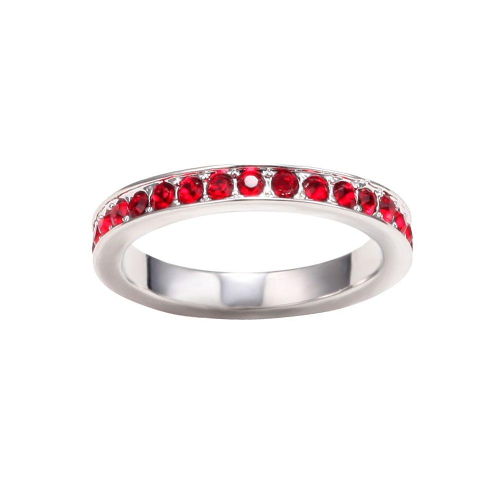 Swarovski - Red Swarovski Crystal Elements Ring
