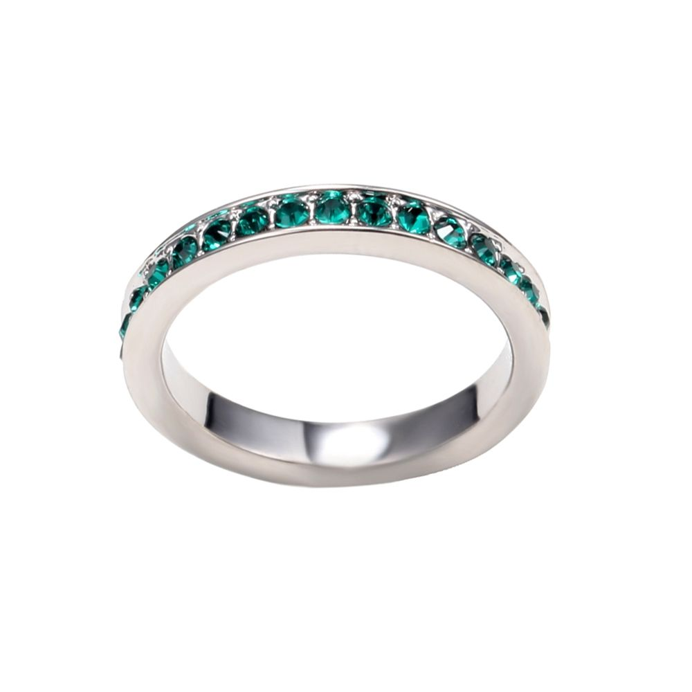Swarovski - Green Swarovski Crystal Elements Alliance Ring