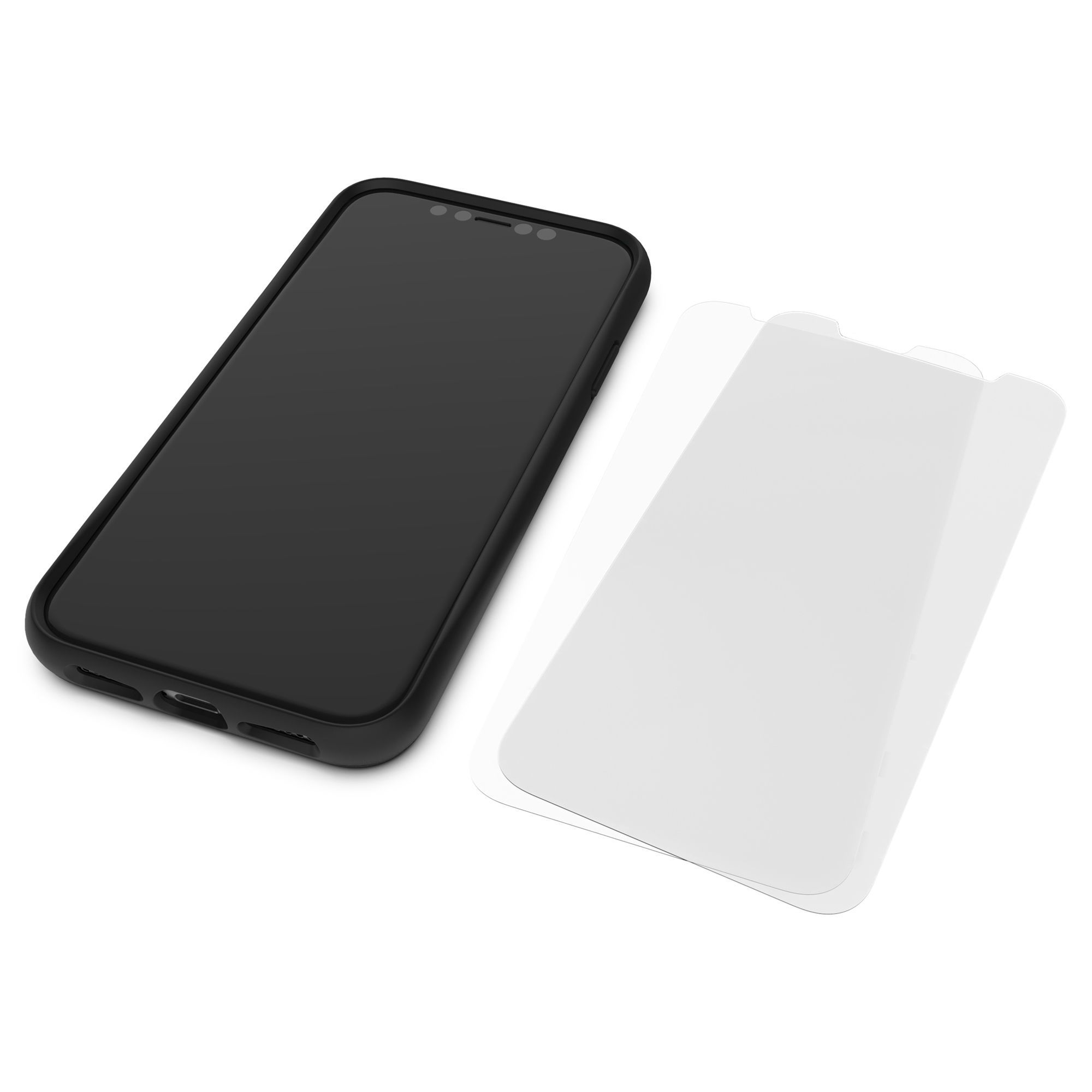 Mous - Resistant TPU Screen Protector for iPhone 12 Pro Max - Pack of 2