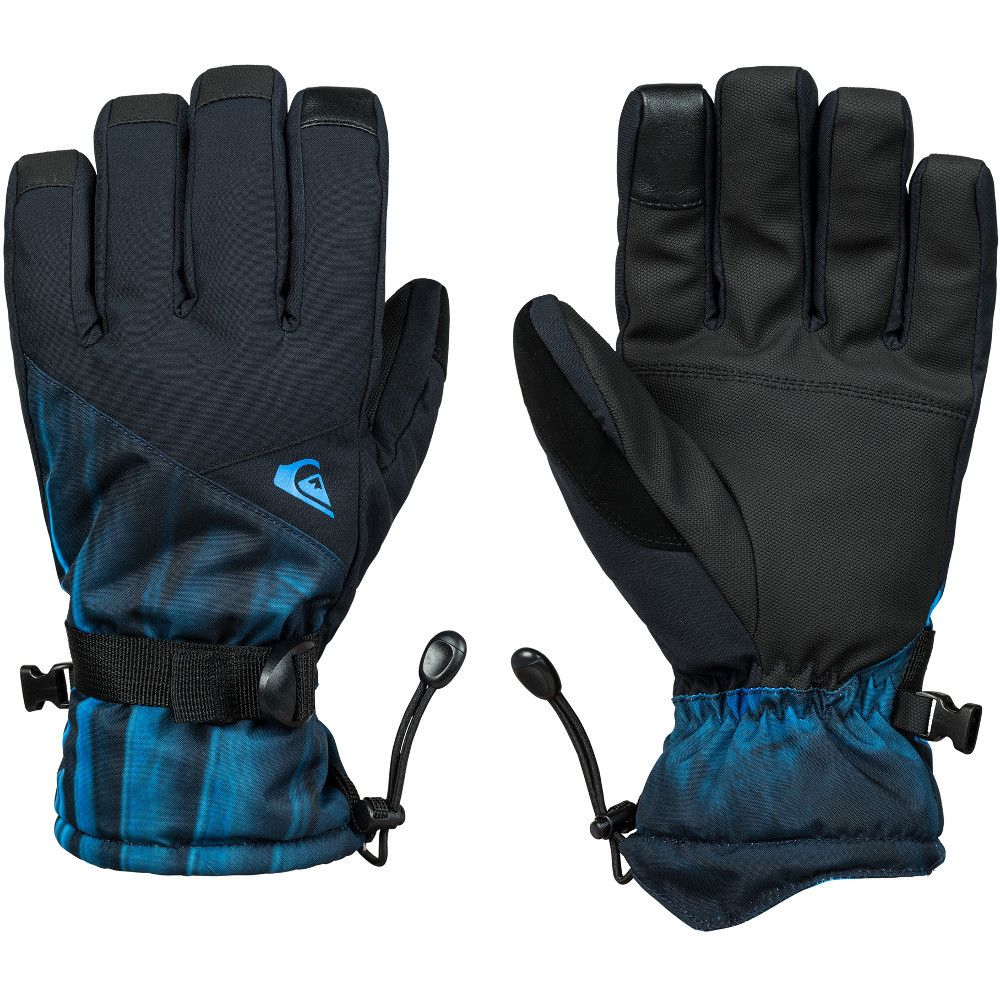 Quiksilver Mens Mission Insulated Ski Snowboard Gloves