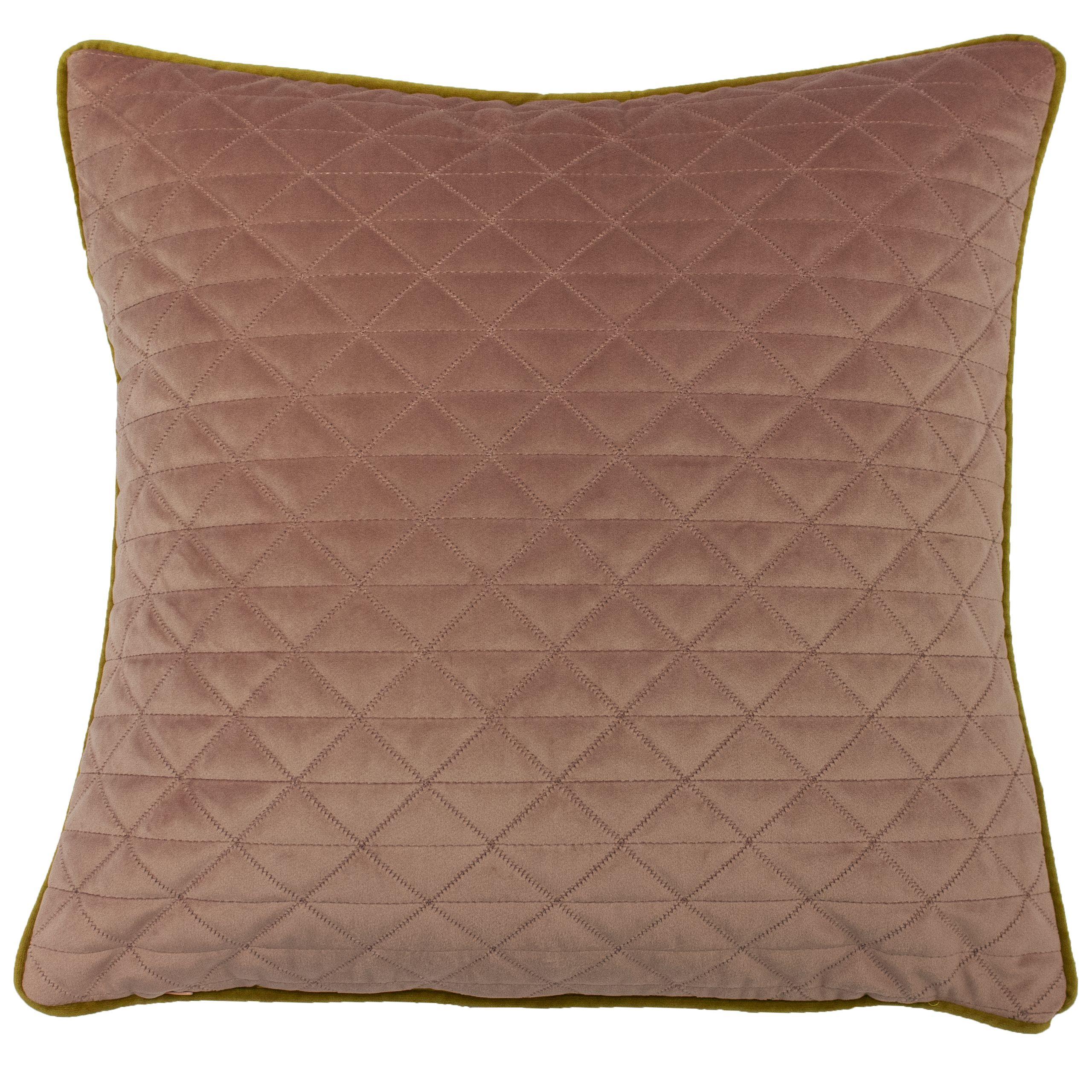 Quartz 45X45 Poly Cushion Blush/Gol