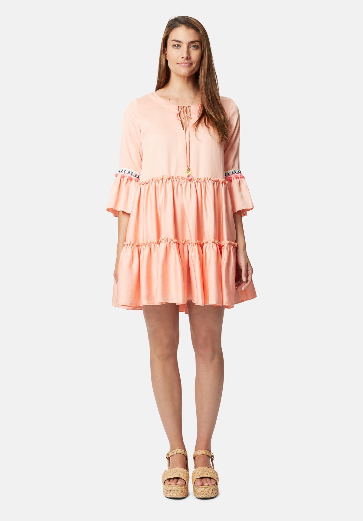 Mini Dew Dress in Pink