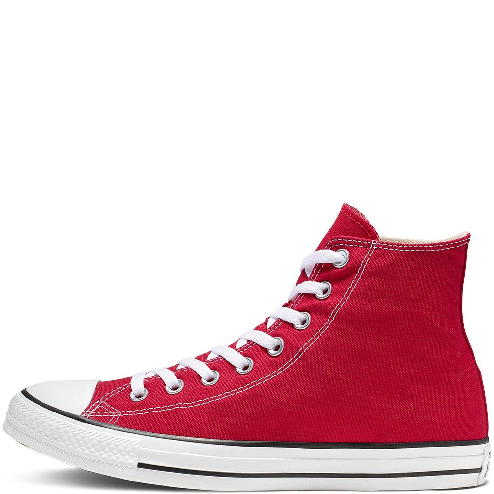 Converse All Star Unisex Chuck Taylor High Tops - Red