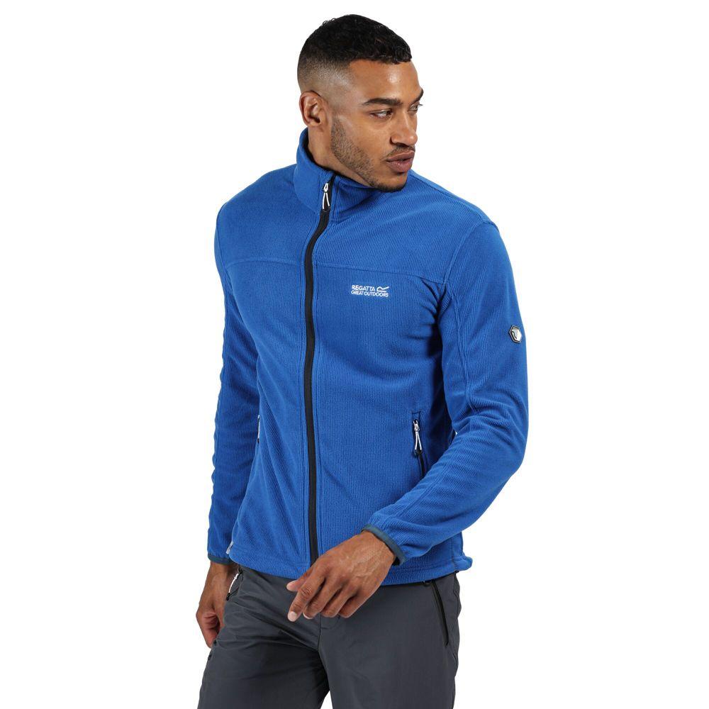 Regatta Mens Stanner Polyester Full Zip Fleece Jacket