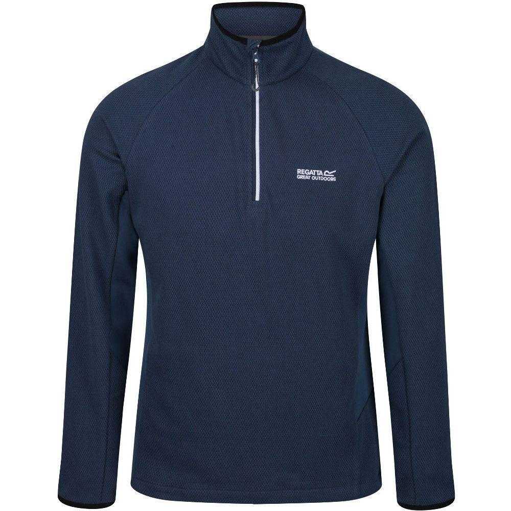 Regatta Mens Highton Half Zip Cotton Fleece Jacket