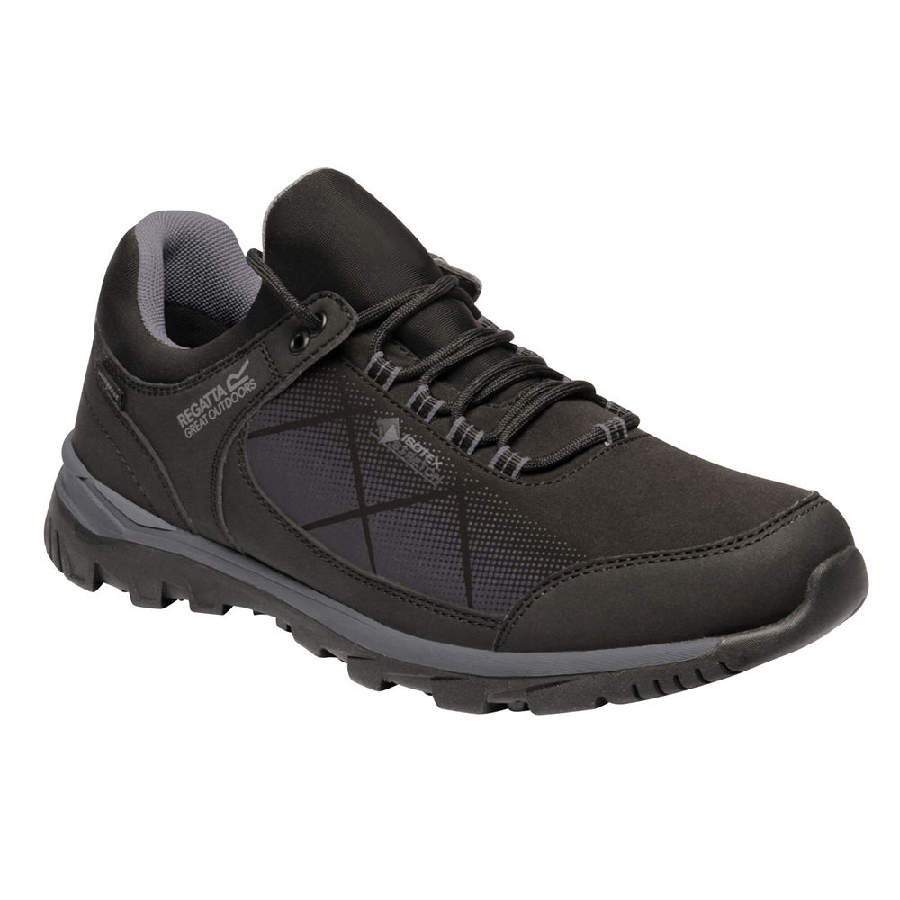 Regatta Mens Highton Stretch Waterproof Walking Shoe