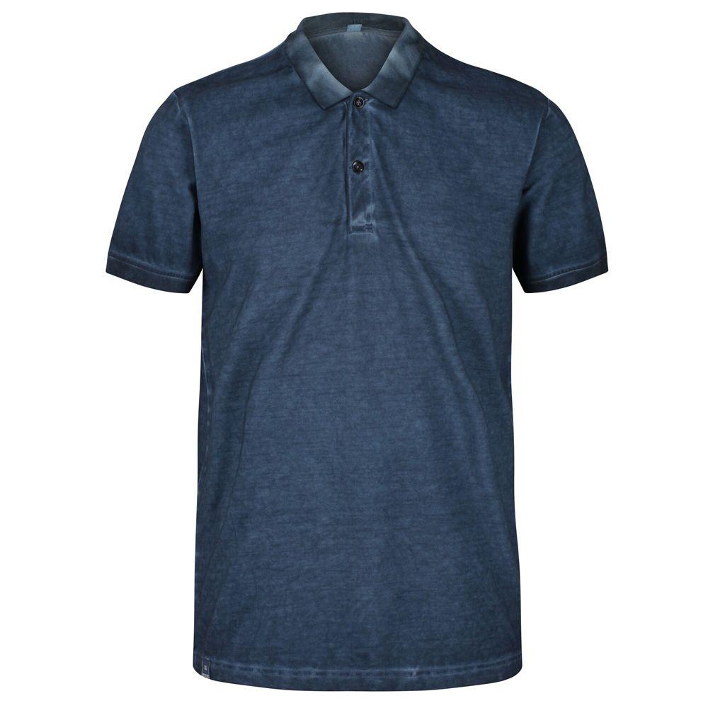 Regatta Mens Taiden Organic Cotton Vintage Washed Polo Shirt